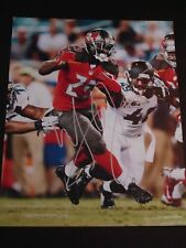 MIKE JAMES #25 TAMPA BAY BUCCANEERS SIGNED AUTOGRAPHED 8x10 PHOTO DETROIT LIONS