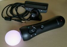 Playstation Move Controller for PS3 PS4 VR Including Eye Camera!