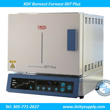 Burnout Oven Furnace KDF 007 PLUS Quick Heat Rise, Wide Chamber. High Technology