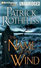 Patrick Rothfuss NAME OF THE WIND Unabridged 23 CDs 28 Hours  *NEW* FAST Ship!