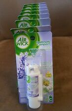 8 Air Wick Freshmatic Compact Spray lavender &Chamomile fragrance Refills
