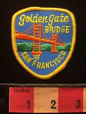 Golden Gate Bridge California Architecture Patch ~ San Francisco Bay 69EE