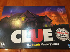 Clue The Classic Mystery Board Game 2 Player Version By Hasbro Ages 8+  Complete