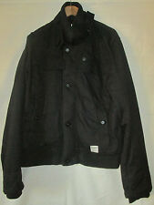 mens G-STAR RAW BLACK COAT SIZE XL