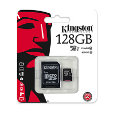Kingston Micro SD 128GB SDXC Memory Card For Mobile Phone Camera Class 10