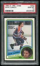 1984 OPC O-PEE-CHEE #252 DAVE LUMLEY PSA 10 GEM MINT WHALERS