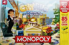 Hasbro Monopoly City Ville Board Game Brand New Sealed Age 8+