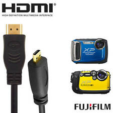 Fujifilm FinePix X100T Camera HDMI Micro TV Monitor 5m Long Gold Wire Lead Cable