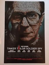 TINKER TAILOR SOLDIER SPY movie poster GARY OLDMAN poster : 11 x 17 inches
