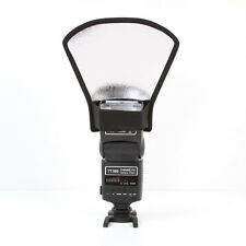 Flash Diffuser Softbox Silver White Reflector for Canon Nikon Yongnuo Speedlite