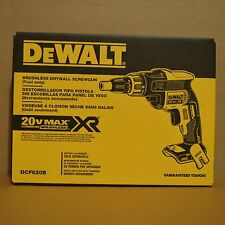 Brand New DEWALT DCF620B 20V Cordless Brushless Screwdriver Drywall Screw Gun