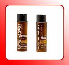 SEVEN WONDERS Moroccan Argan Oil Shampoo & Conditioner 250ml
