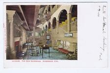 Interior The New Glenwood  Riverside, CA   1905  PC 173