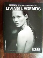 F.I.B. Masters of Photography Vol 1 Living Legends David Bailey Annie Leibovitz