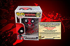 Marvel Deadpool 111 With Swords Funko POP! Figure - SIGNED BY ROB LIEFELD + COA