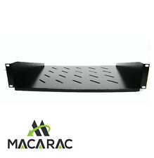 "2RU-350mm Deep Cantilever Shelf / Tray for 19"" inch Rack System Server Cabinet"