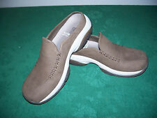 MERRELL Primo Seam Taupe Brown Loafer Leather Clog Mule Slip-on US 6.5 EU 37