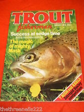 TROUT FISHERMAN - THE MAGIC OF MIGHTY MASK - AUG 1979