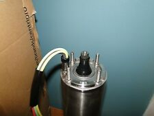 """NEW GOULDS 1 HP 230V 3 PHASE 4"""" CENTRIPRO SUBMERSIBLE PUMP MOTOR  M10432"""