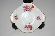 Royal Doulton Pin Dish with Gilt Rim and floral design.