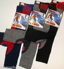 3 PAIRS MENS THERMAL PADDED SKI SOCKS HIGH PERFORMANCE LONG LENGTH SIZE UK 6 -11
