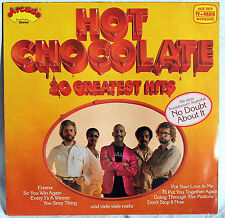 "12"" Vinyl HOT CHOCOLATE - 20 Greatest Hits"