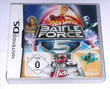 "Nintendo DS juego ""Hot Wheels Battle Force 5"" Deutsch/embalaje original"