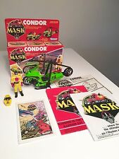Vintage 1985 Kenner - M.A.S.K. Boxed CONDOR with Booklets and Stuff