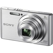 Sony CyberShot W830 Digital Camera (Silver) + 8GB + Bag (Sony M'sia)