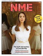 LANA DEL REY Photo Cover interview UK NME MAGAZINE DECEMBER 2015