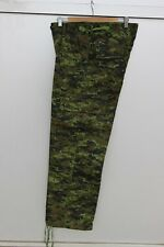 CadPat Camo Combat Pants Canadian Military Style New Size Men's Large