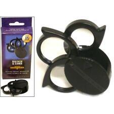 5X 7X 9X 20X Bausch & Lomb Triple Lens Magnifier Magnifying Glass 812367