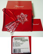 Baccarat Crystal NOEL - SHOOTING STAR Christmas Ornament, New, SEALED Box