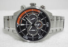 NEW Citizen Men's CA4330-58E Eco Drive Chronograph Japan Movement Watch RRP £349