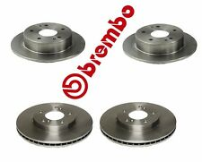 4pc - Brembo Honda Acura Integra 5-Lug Front & Rear Brake Rotors - 25464 / 25550