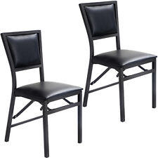 Set of 2 Wood Folding Chair Dining Chairs Home Restaurant Furniture Portable New