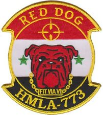 USMC HMLA-773 Marine Light Attack Helicopter Squadron Fit Via Vi Patch