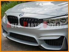 BMW F32 428i 435i Coupe/Convertible/Gran M Style Shiny Gloss Black Front Grille