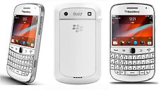 WHITE AT&T Mobile Unlocked GSM BlackBerry Touch Screen Bold  3G wifi Smartphone