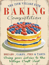 Baking, Cake Vintage Food, Cafe Restaurant Kitchen Home, Novelty Fridge Magnet