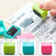 Roller Rubber Wheel Secure Stamp Protect Document Privacy Sealing Postage Tools