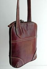LATICO Brown Leather Purse Cross-Body Bag Organizer