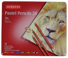Derwent Pastel Pencils 24 Colour Tin