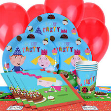 Ben and Holly Girls/ Boys Birthday Party Pack 16 Tableware Decorations Supplies
