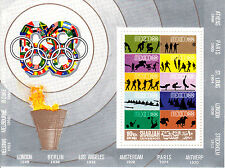 Sharjah 1968 Summer Olympic, Mexico 1968, MNH, perf. #4