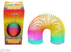 Magic Rainbow Spring 12 CM Tall SLINKY Childrens RETRO Toy Multi-Coloured Fun