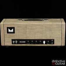 NEW MORGAN AMPS RCA35R AMPLIFIER - 35 W HANDMADE TUBE HEAD DRIFTWOOD WRAPPED