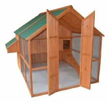 EXTRA LARGE Backyard Chicken Coop Hen House W/Run Outdoor Cage Pet Supplies