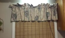 VTG. Croscill Chambord Curtains/Valances floral french country purple cream♡
