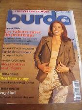 MAGAZINE BURDA LES BASIQUES CHICS EN VILLE LE NOUVEAU  STYLE SAFARI  1999